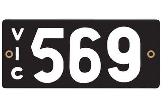 Victorian Heritage Plate '569'