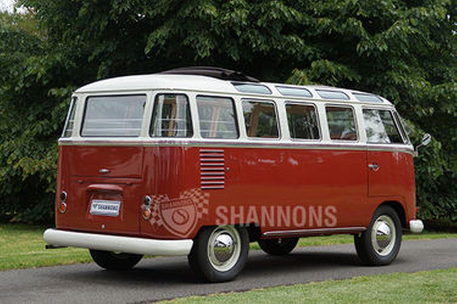 sold volkswagen kombi 39 23 window 39 samba bus rhd auctions lot 32 shannons. Black Bedroom Furniture Sets. Home Design Ideas