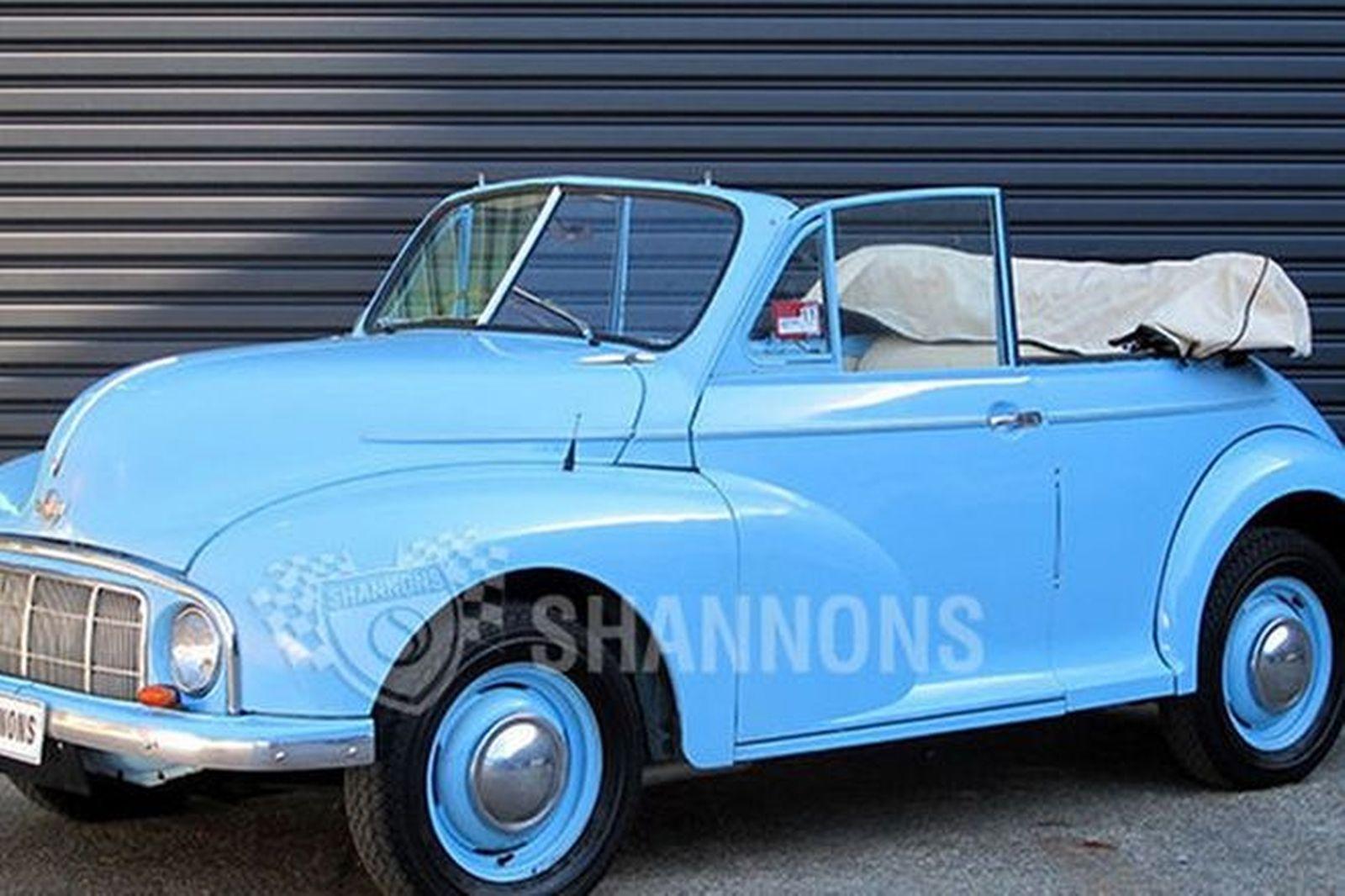 Sold: Morris Minor Series MM 'Lo-Light' Convertible ...