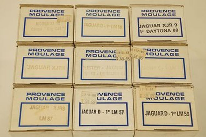 Model Kits x 9 - Provence Moulage various Jaguar resin Models - unassembled kits (1:43 scale)