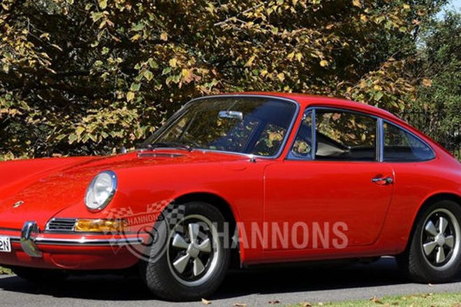 Porsche 912 Coupe (RHD)