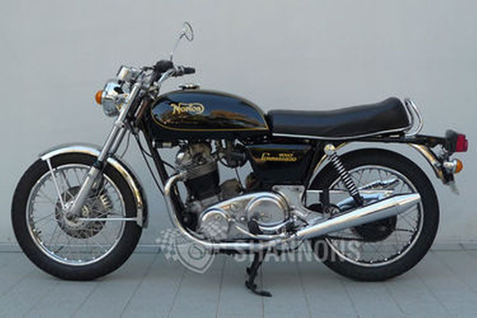 Sold norton commando 850 mkiia interstate motorcycle for Motor vehicle open on saturday