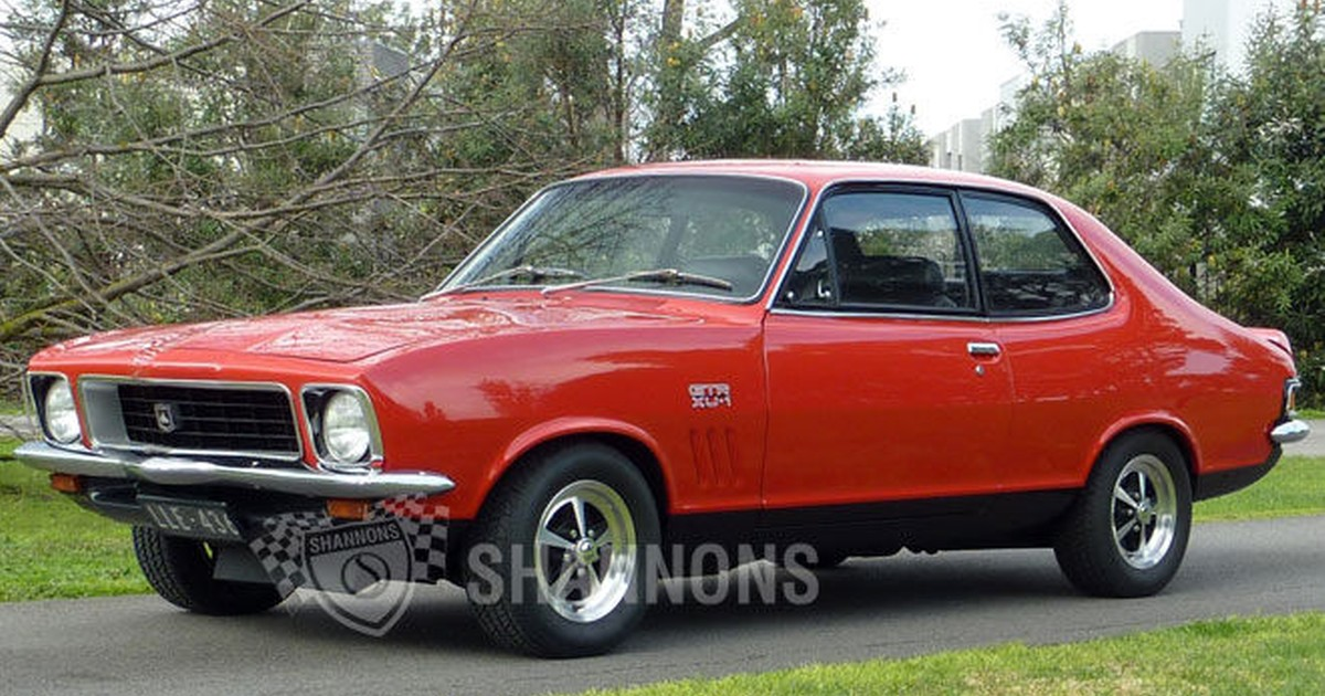 Sold Holden Lj Torana Xu 1 Coupe Auctions Lot 12 Shannons