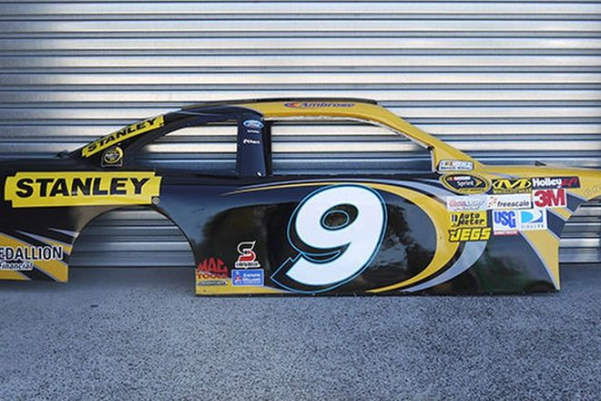 Fibreglass Display Side Cut - Marcos Ambrose #9 Nascar (full size)
