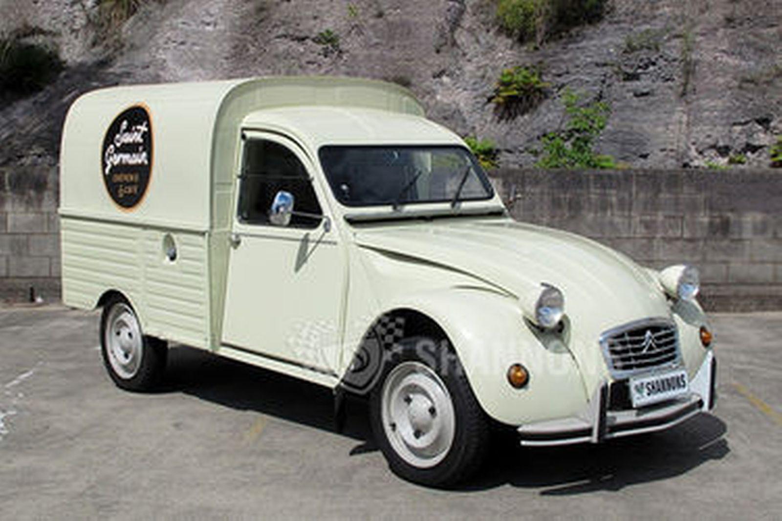 Sold Citroen 2cv Ak400 Van Lhd Auctions Lot 7 Shannons