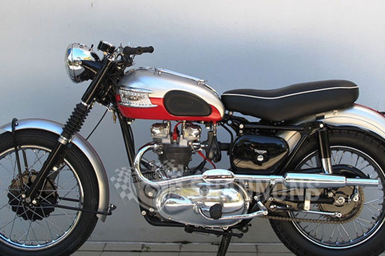 sold triumph tiger 100 500cc motorcycle auctions lot l shannons. Black Bedroom Furniture Sets. Home Design Ideas