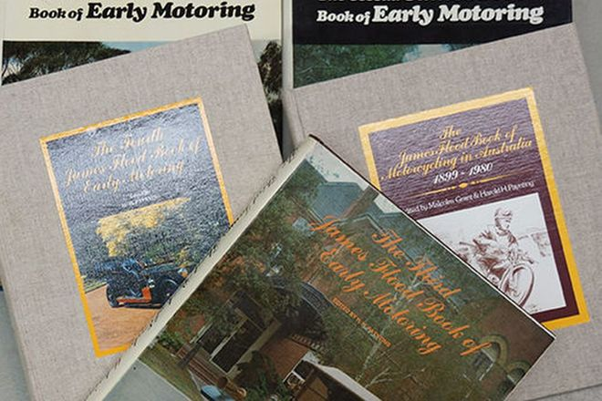 Motoring Books - 5 x James Flood Motoring Books (Editions 1-5)
