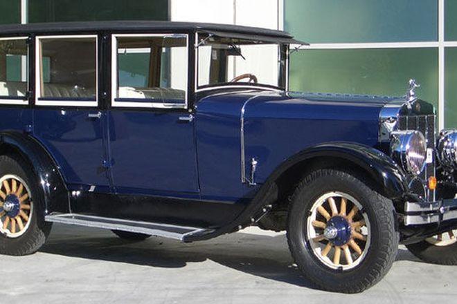 Franklin 11B 'De Causse' Sedan (LHD)