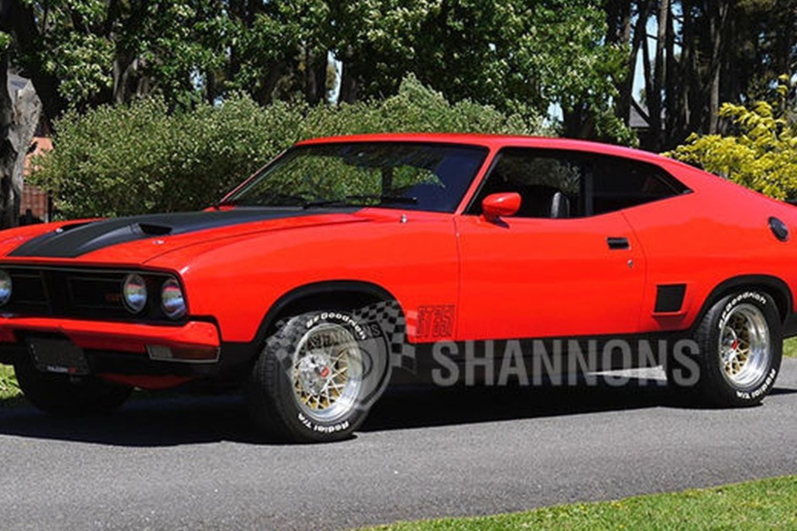 This Nicely Executed 1975 Ford XB Falcon GT Tribute Coupe With Four Speed Manual Transmission Is Expected To Sell In The 32000 36000 Range