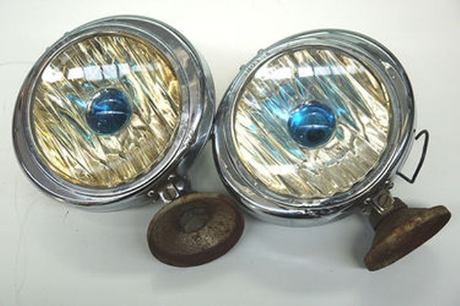 Fog Lamps - Pair of Notek (British made)