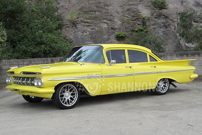 Chevrolet Bel Air Sedan (RHD)
