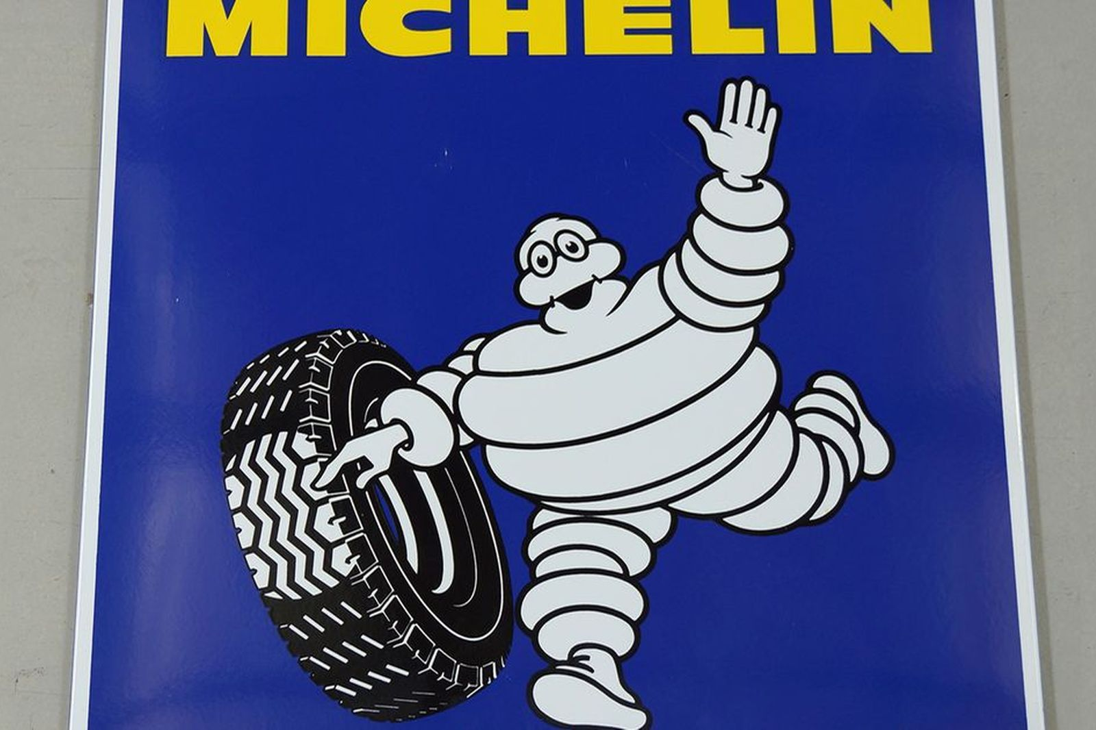 Enamel Sign - c1975 Michelin (95 x 95cm)