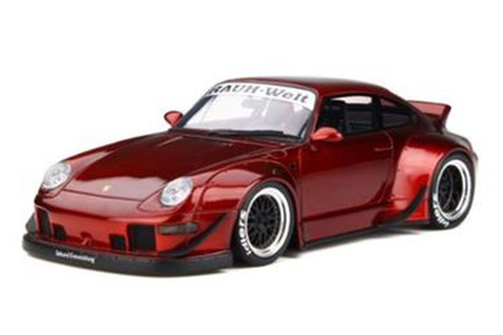 Model Car - Porsche GT759 RWB Duck Tail (Red)  Brand - GT Spirit (Scale -1:18)