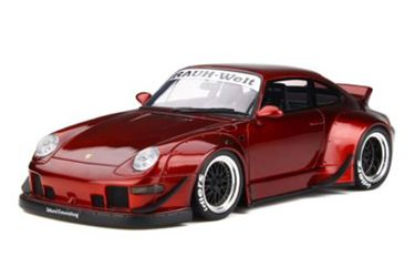 Model Car - Porsche GT759 RWB Duck Tail (Red)  Brand - GT Spirit (Scale -1:18)