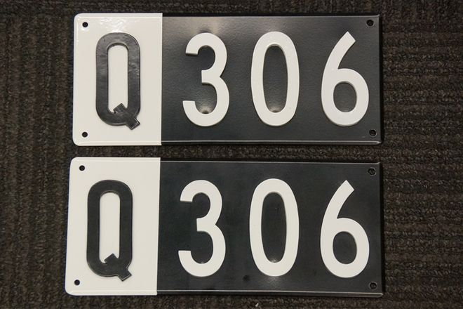 Number Plates - Queensland Heritage Q Plates - 'Q 306'