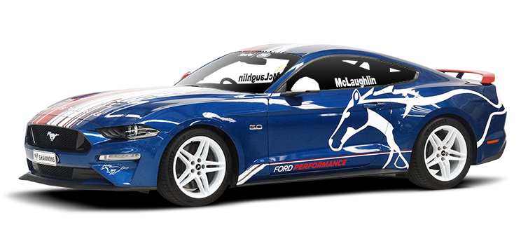Ford Speed Comparison Mustang GT as Driven by Scott McLaughlin - Shannons Timed Online Auction