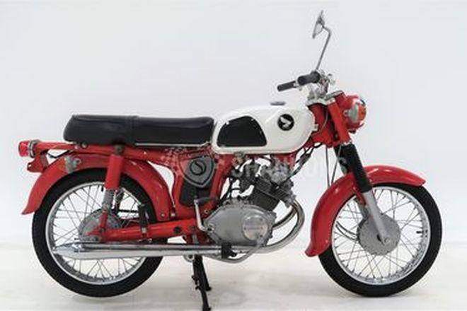 Honda 125cc CDA Motorcycle