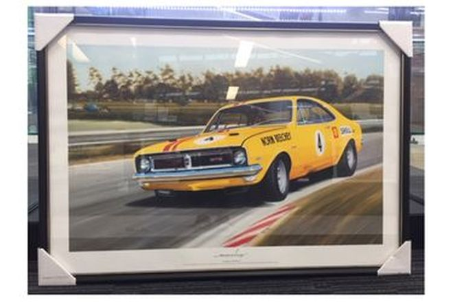 Framed Print - Norm Beechy Monaro Thunder at the Farm (70 x 101cm)