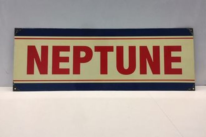 Tin Sign - Reproduction Neptune (57 x 20cm)