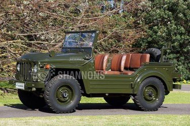 Austin Champ Military Jeep 4x4