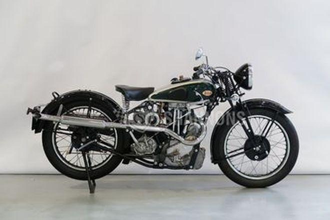 BSA Model W35-7 500cc Motorcycle
