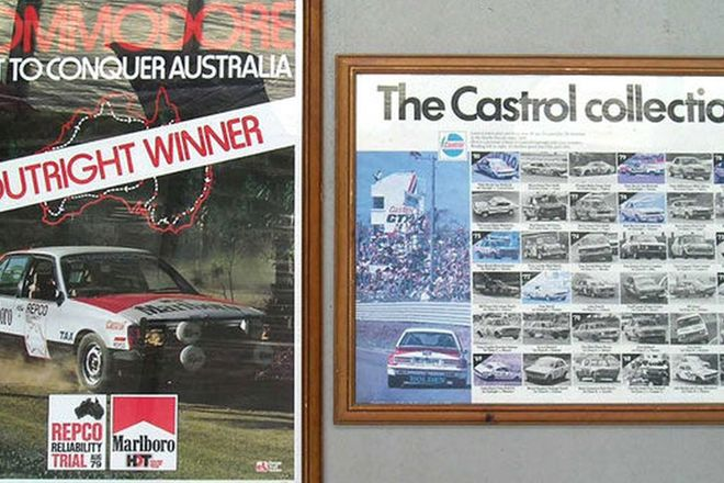 Framed Prints - Castrol Collection & Rally HDT Commodore