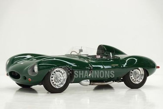 Jaguar D-Type 1955 Style (Recreation) by Classic Autocraft - From the 'Ian Cummins Collection'