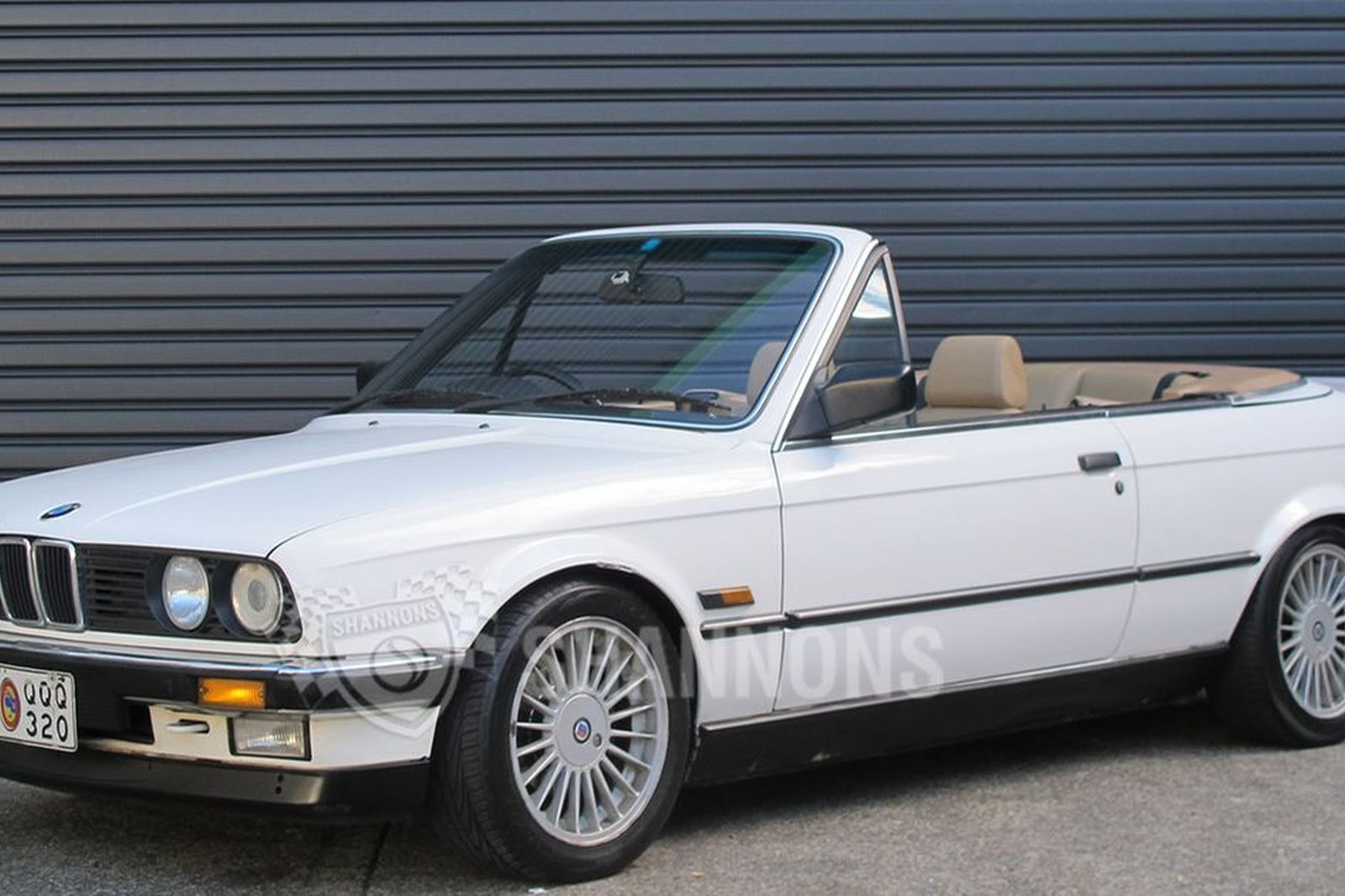 sold bmw 320i 39 alpina enhanced 39 convertible auctions lot 17 shannons. Black Bedroom Furniture Sets. Home Design Ideas