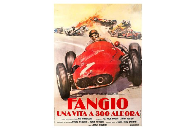 Vinyl Hanging Posters - Fangio Old Movie