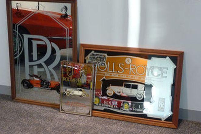 Mirrors x 3 - Rolls-Royce Mirrors (65 x 95cm, 30 x 42cm & 80 x 60cm)