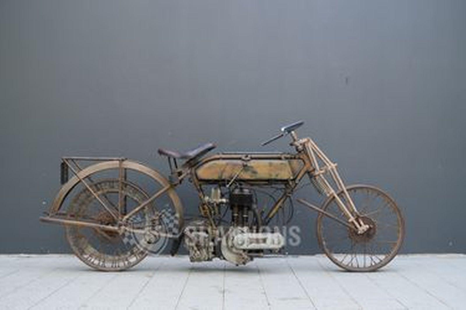 Triumph Model P 500cc Motorcycle (Project)