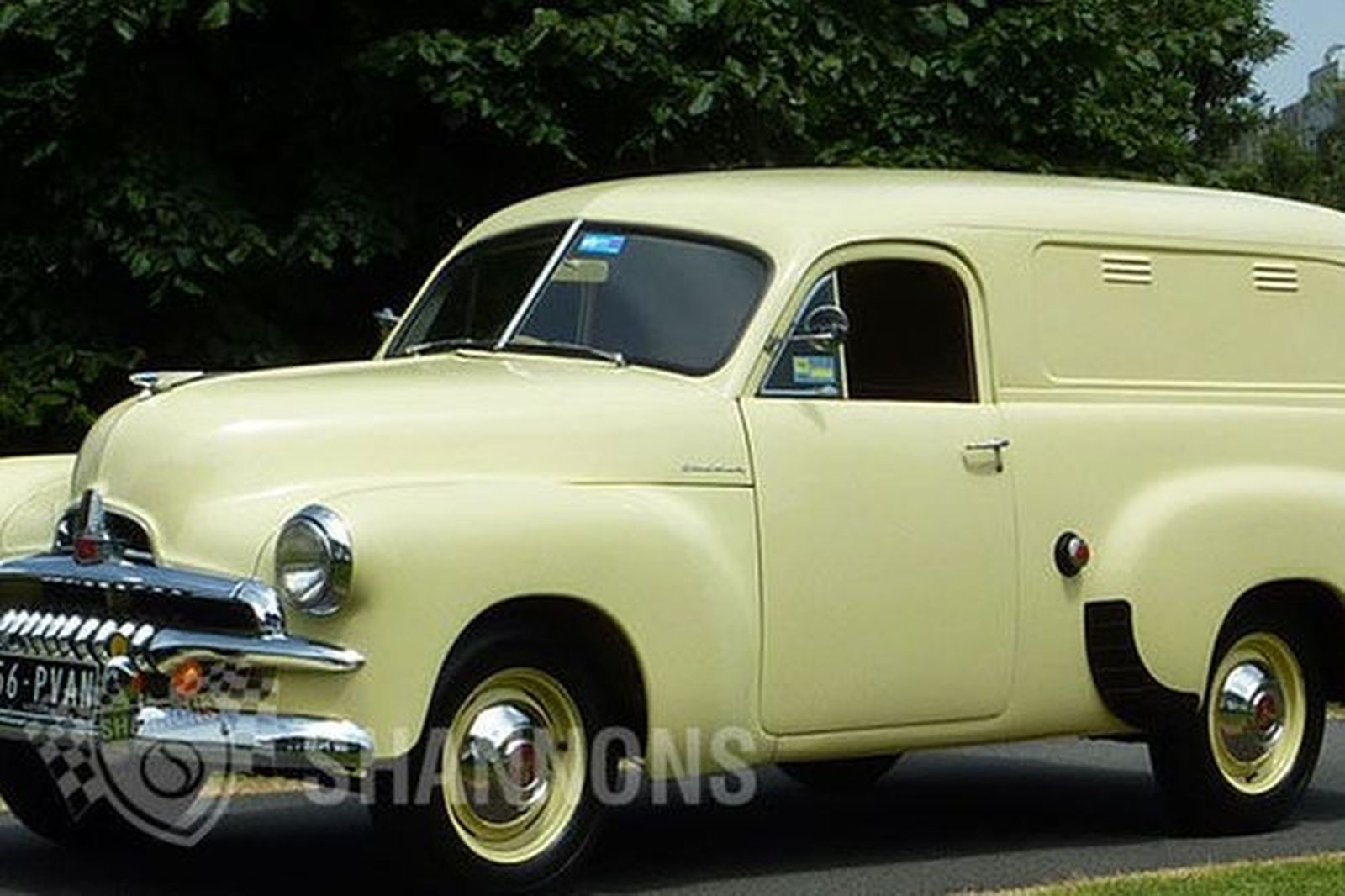 f7cb610e5c Sold  Holden FJ  Windowless  Panel Van Auctions - Lot 21 - Shannons