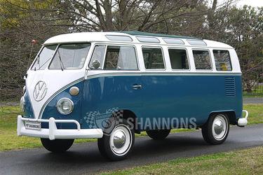 Volkswagen 21 - Window Kombi Microbus (LHD)