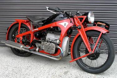 Zundapp K800 Solo Motorcycle