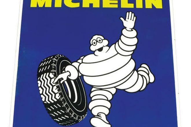 Enamel Sign - Michelin (75cm x 75cm) Original