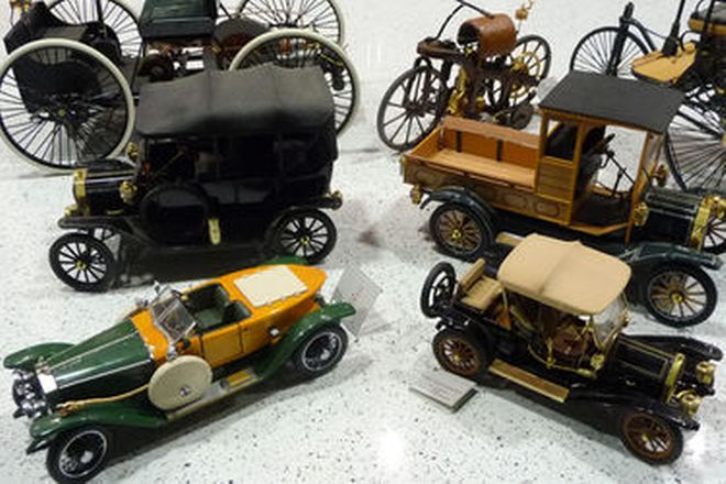 Model Cars - 7 x Franklin Mint  - Veteran & Vintage Vehicles (Various Scales)