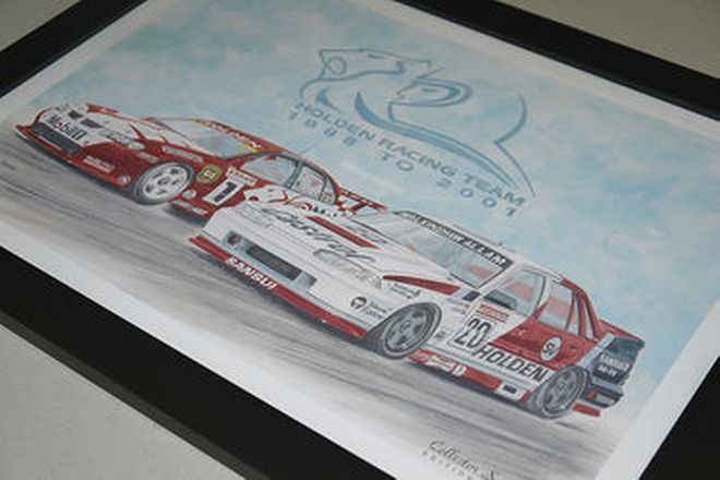 Prints - 2001 Holden Dealer Team Collector Series (No.5 of 12)