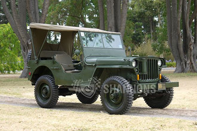 Ford H Jeep (LHD)