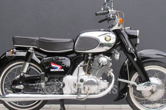 Honda CA77 Dream 305cc Motorcycle