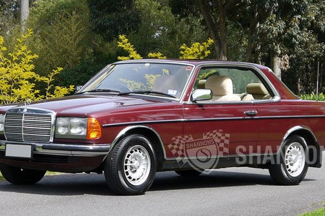 Sold mercedes benz 280ce coupe auctions lot 8 shannons for Mercedes benz coupes list