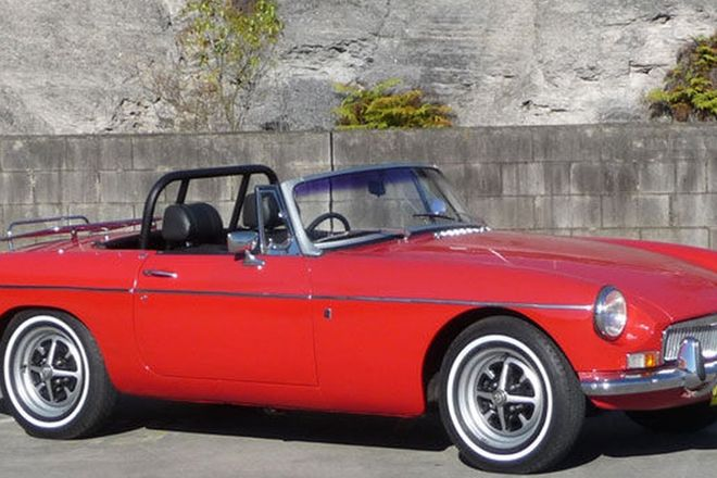 MGB Mark II Roadster