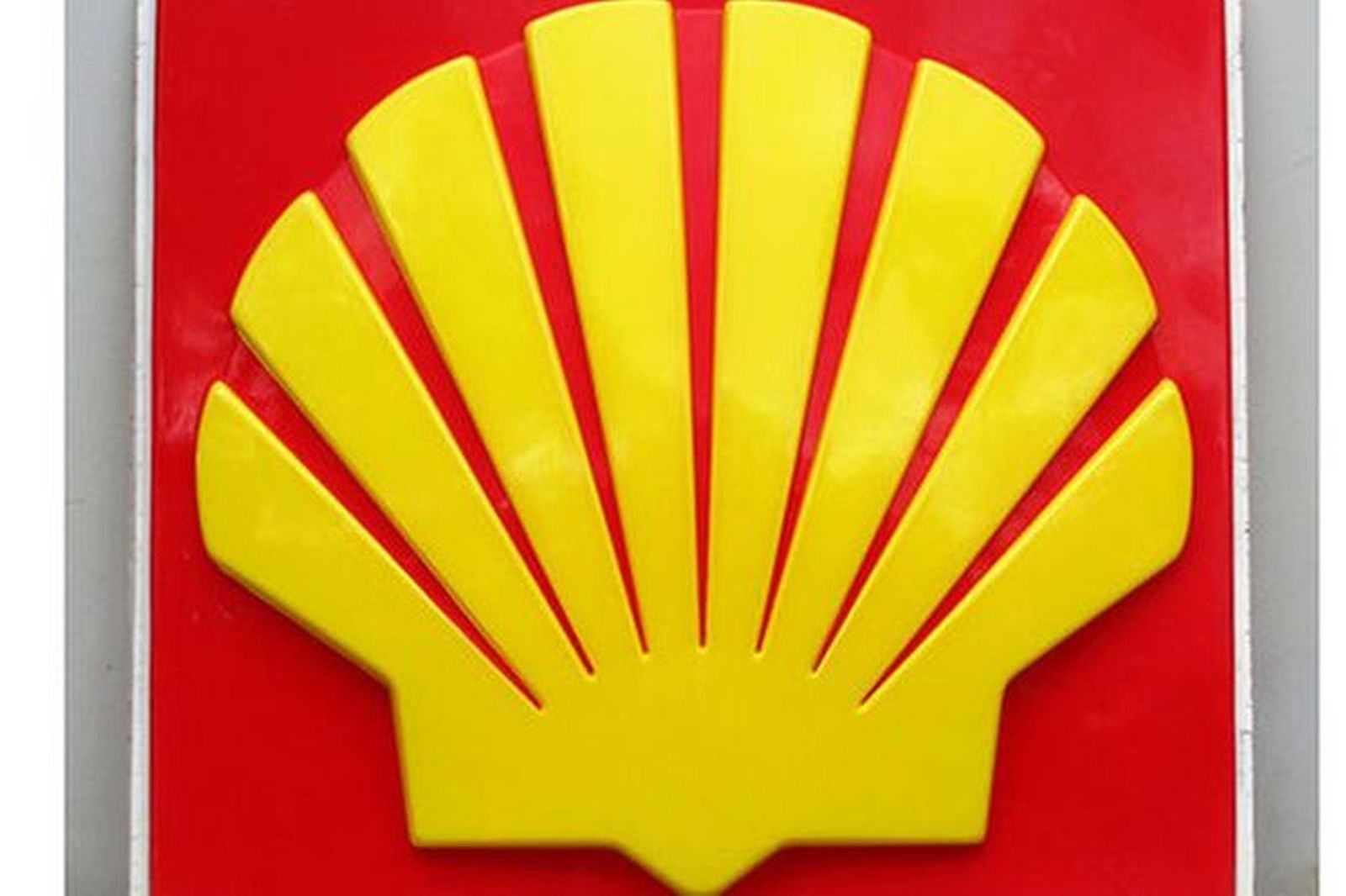 Acrylic Sign - Shell embossed (176 x 176cm)