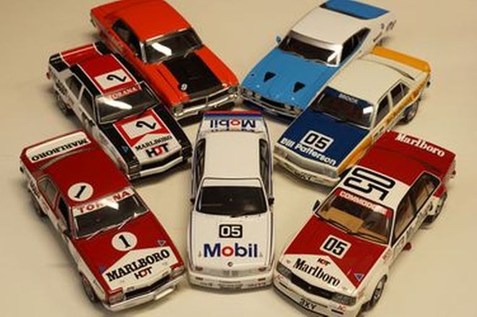 Model Cars x 7 - Classic Collectables & AutoArt Group C and Touring Car Collection (1:18 Scale)