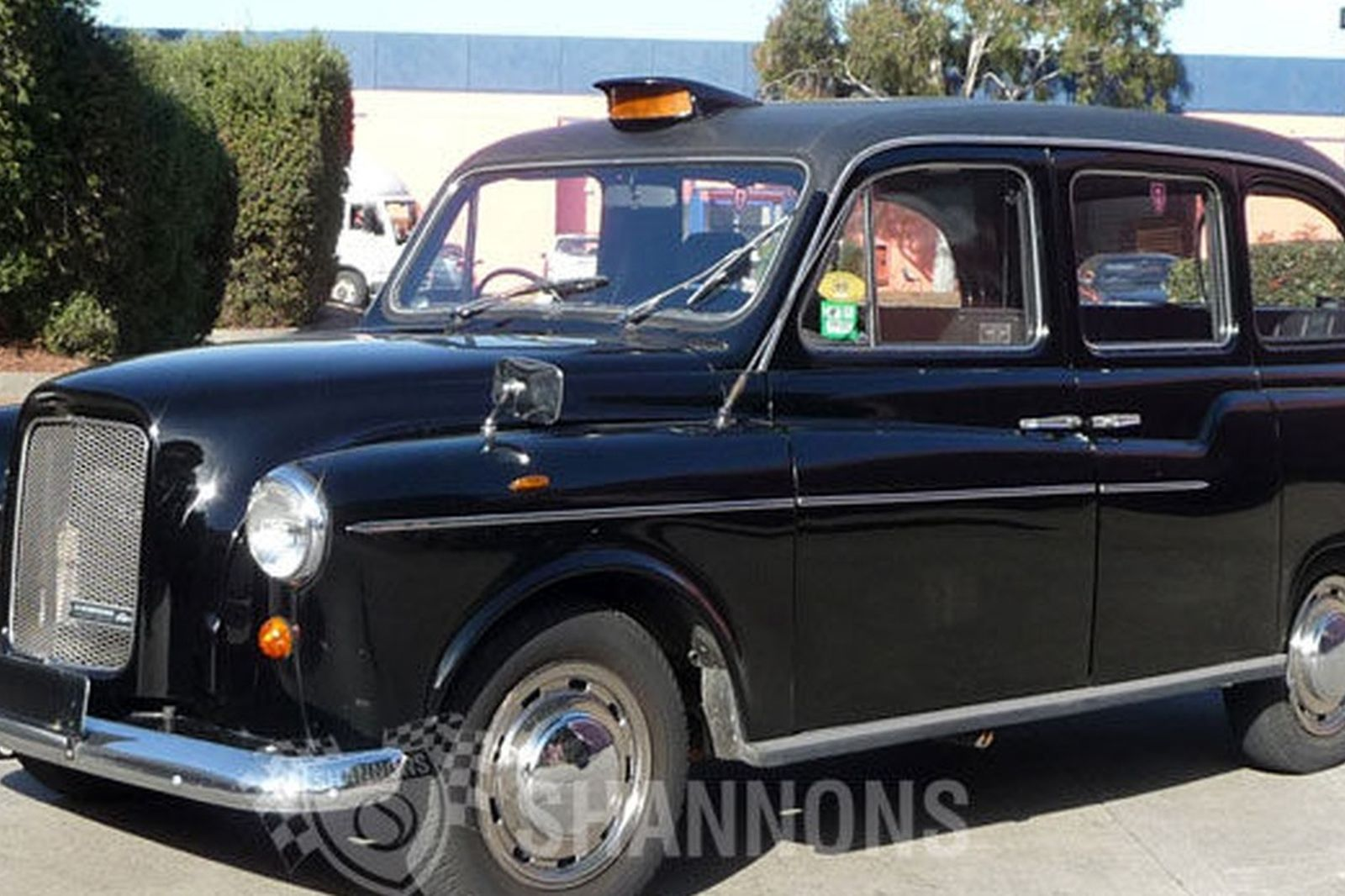 Cabs In Austin >> Sold Austin Taxi Cab Fx4r Saloon Auctions Lot 43 Shannons