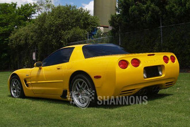 Chevrolet Corvette Z06 Coupe (RHD)