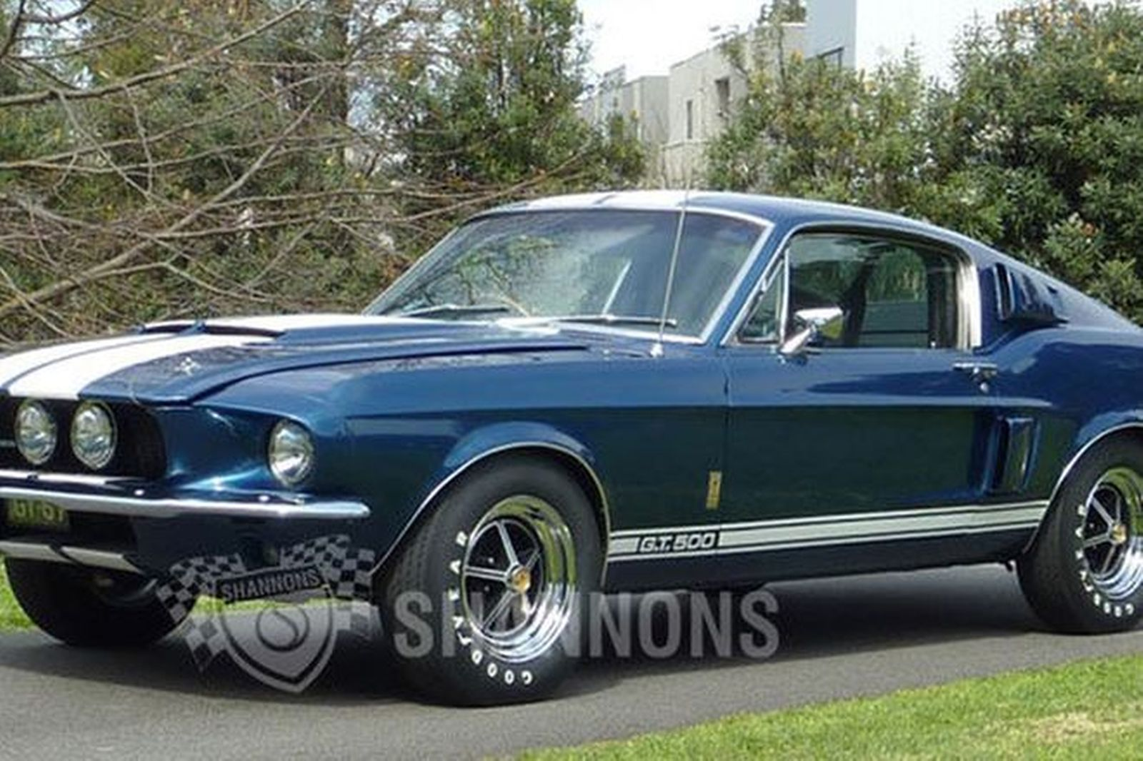 Sold: Shelby Mustang GT500 Fastback (RHD) Auctions - Lot ...