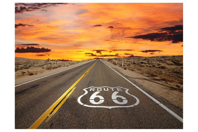 Vinyl Hanging Posters - Route 66