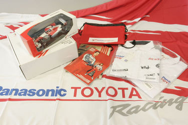 2005 Toyota Formula 1 Pack and Model.