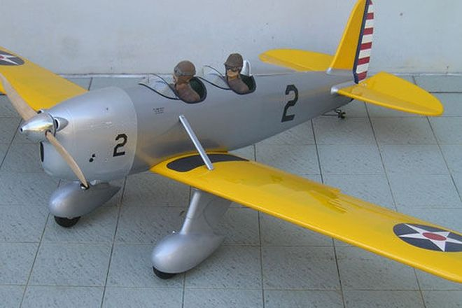 Model Plane - STA- Military RYAN flying model (2.1m. Wingspan)