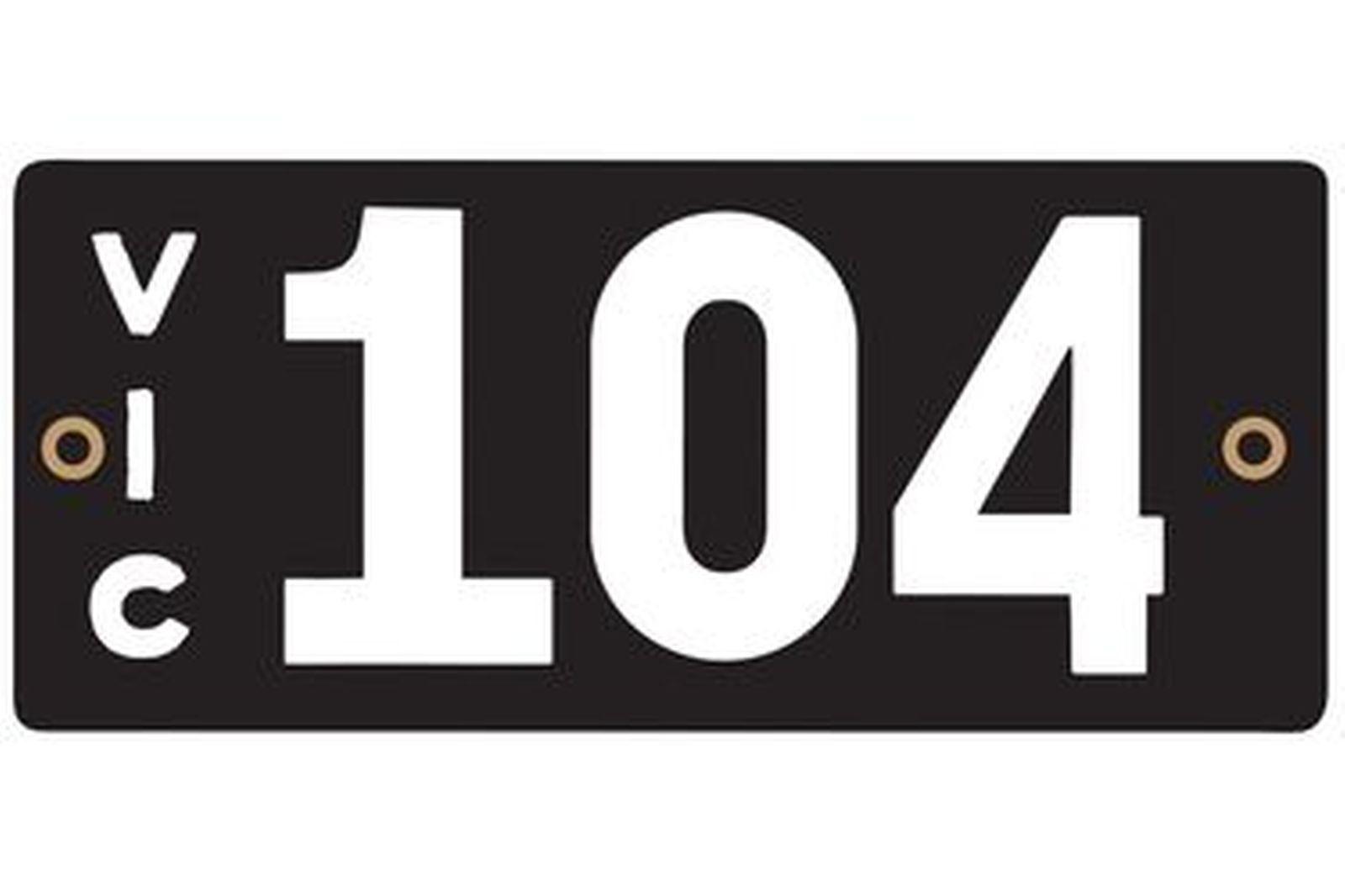 Victorian Heritage Plate '104'